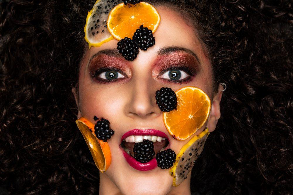 Beautyfoto fruit, beautyshoot, portretfoto, Rosco Pas Fotografie