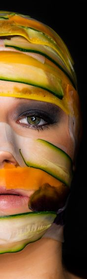 Portretfoto masker, Rosco Pas Fotografie