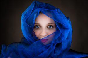 Portretfoto sjaal, Rosco Pas Fotografie