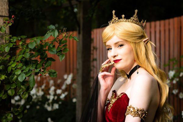 cosplay foto elvenkoningin