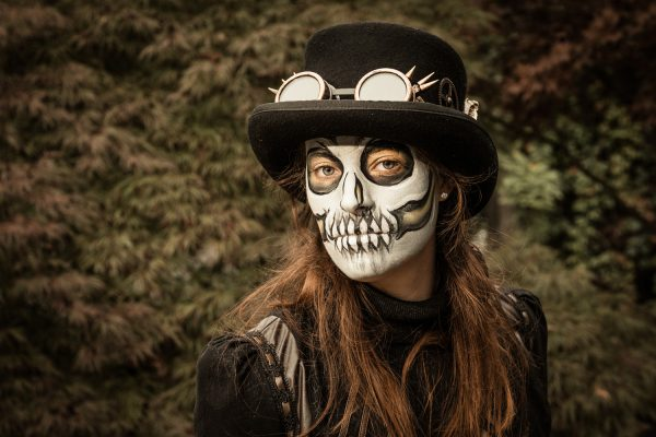 cosplay foto skelet
